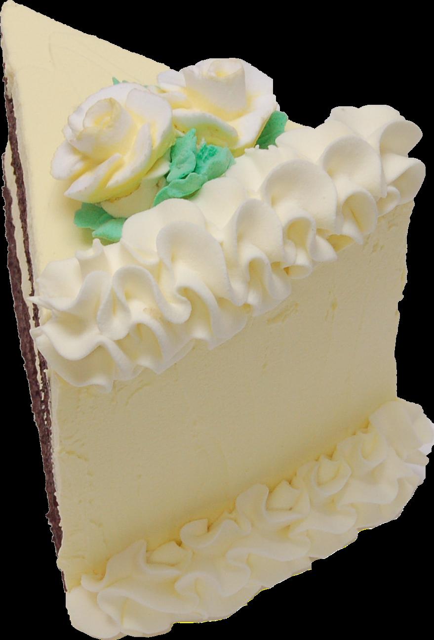 Lemon fake cake slice B