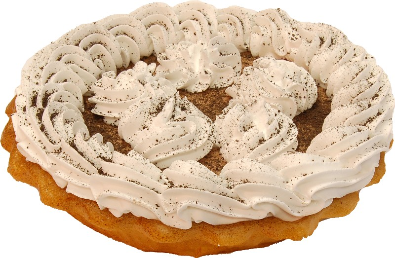 Chocolate Mousse Artificial Pie 9 INCH
