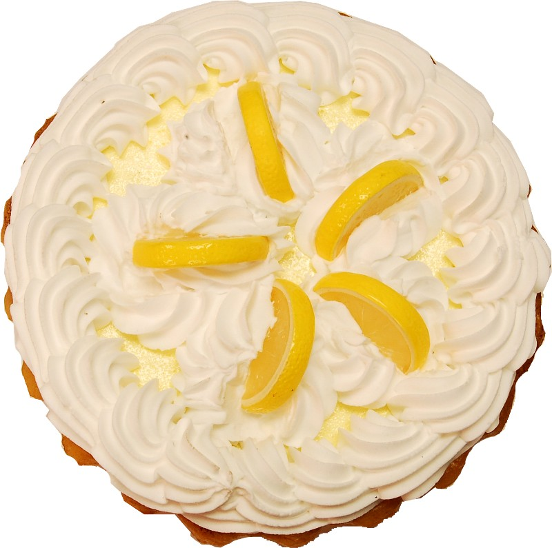 Lemon Cream Artificial Pie