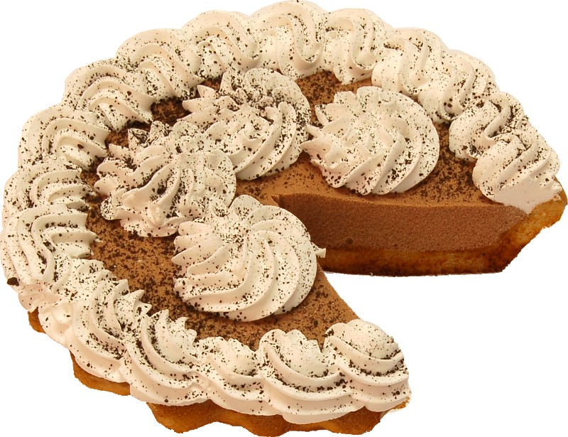 Chocolate Mousse Artificial Pie