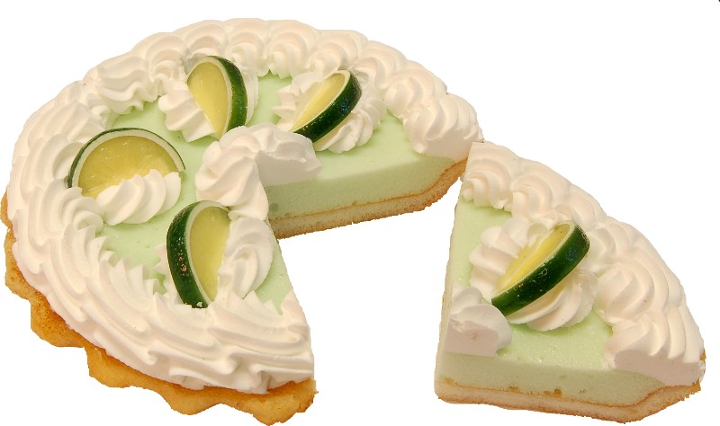 Key Lime Cream Artificial Pie with Slice Fragrance