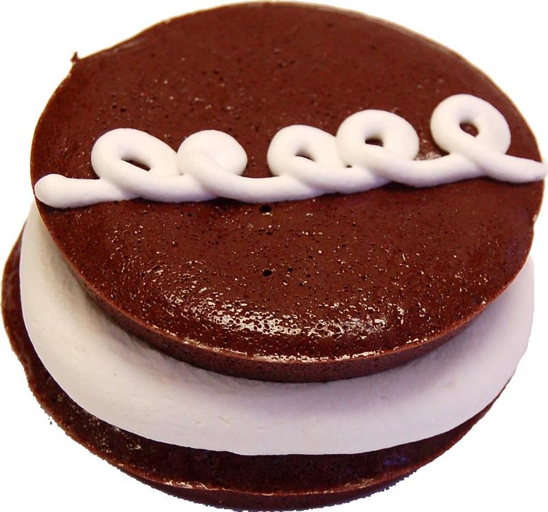 chocolate n cream fake cake