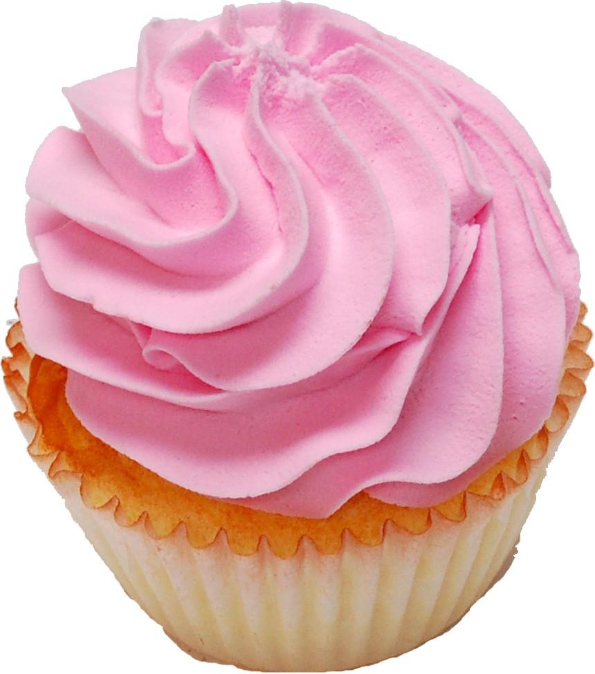 Pale Pink Fake Cupcake