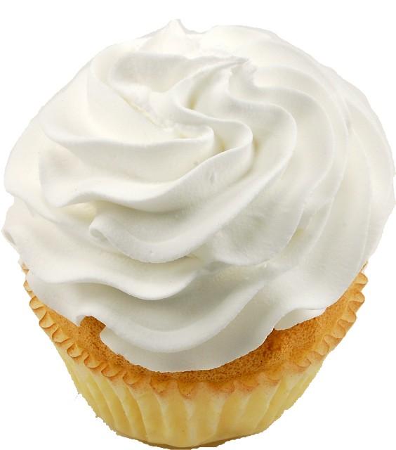 Fake Cupcakes white