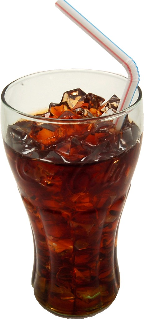 Cola Fake Glass