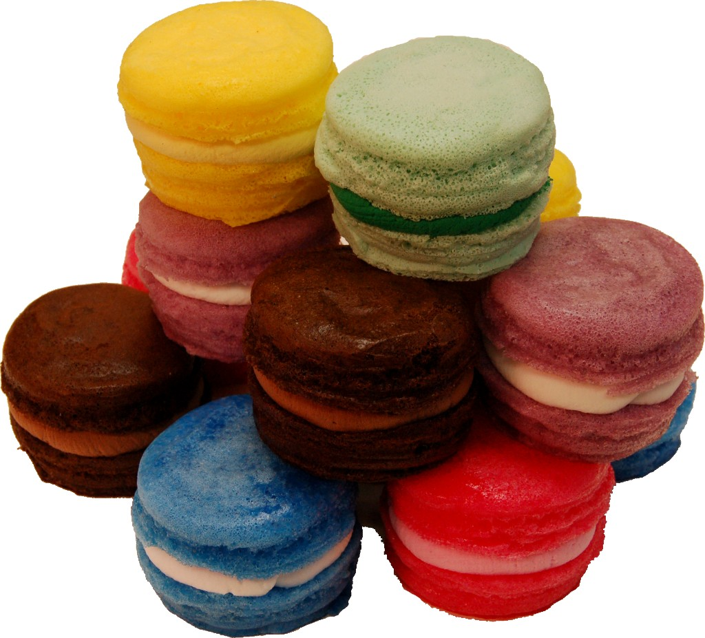 Fake Macarons with Cream 12 Pack Assorted