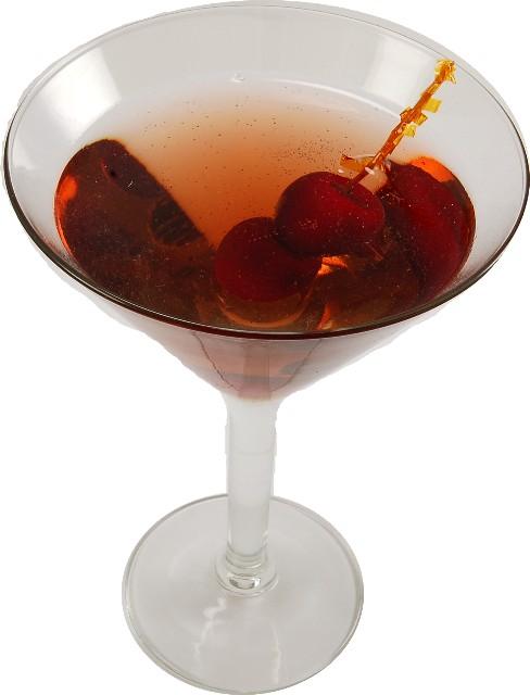 Manhattan Glass fake drink