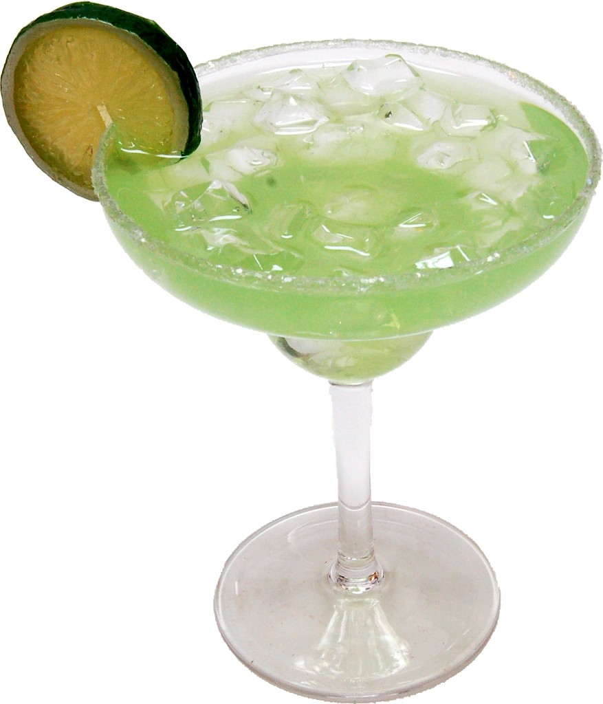 Margarita with Ice Fake Drink Polycarbonate