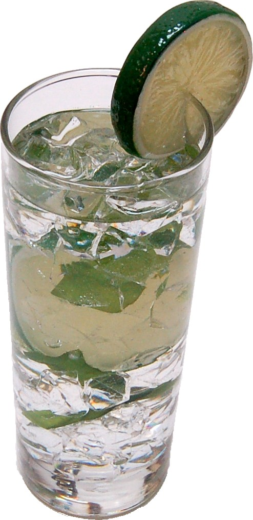 Mojito Glass Fake Drink