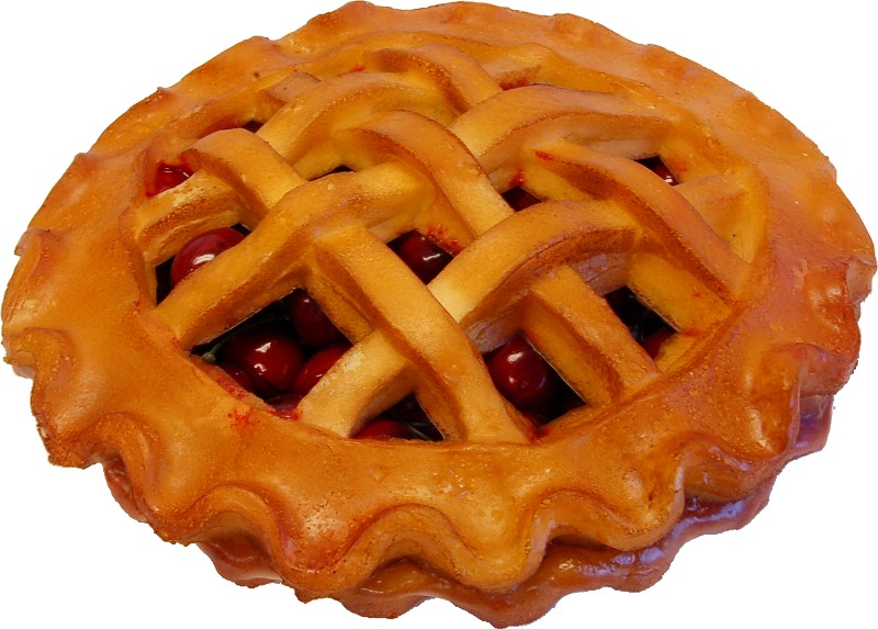 cherry fake pie