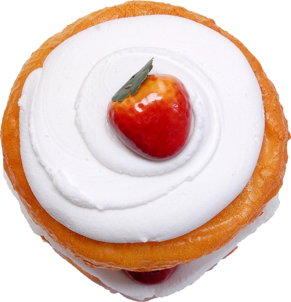 Strawberry Shortcake Fake Dessert top