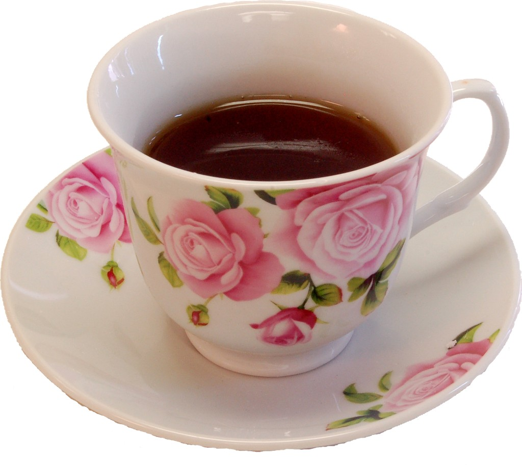 tea cup and saucer fake drink