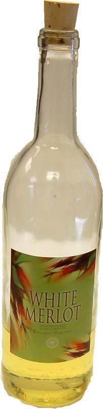 White Wine Bottle fake drink