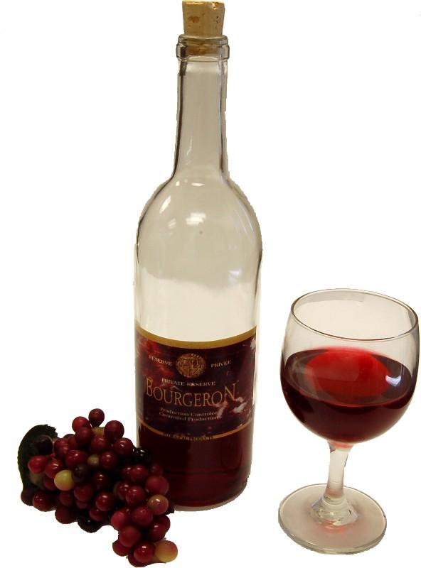 Red Wine Set Glass fake drink