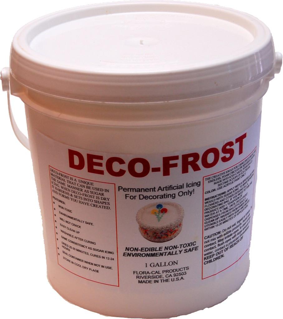 Deco-Frost 1 Gallon Artificial Non-Edible Fake Icing