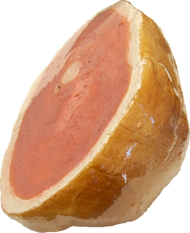 fake roasted ham shrink wrapped B