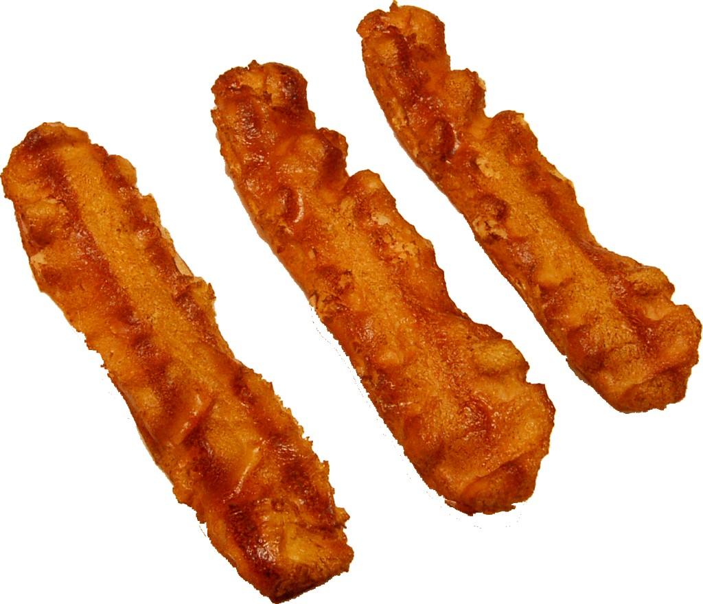 Bacon Strip 3 Piece Fake Food