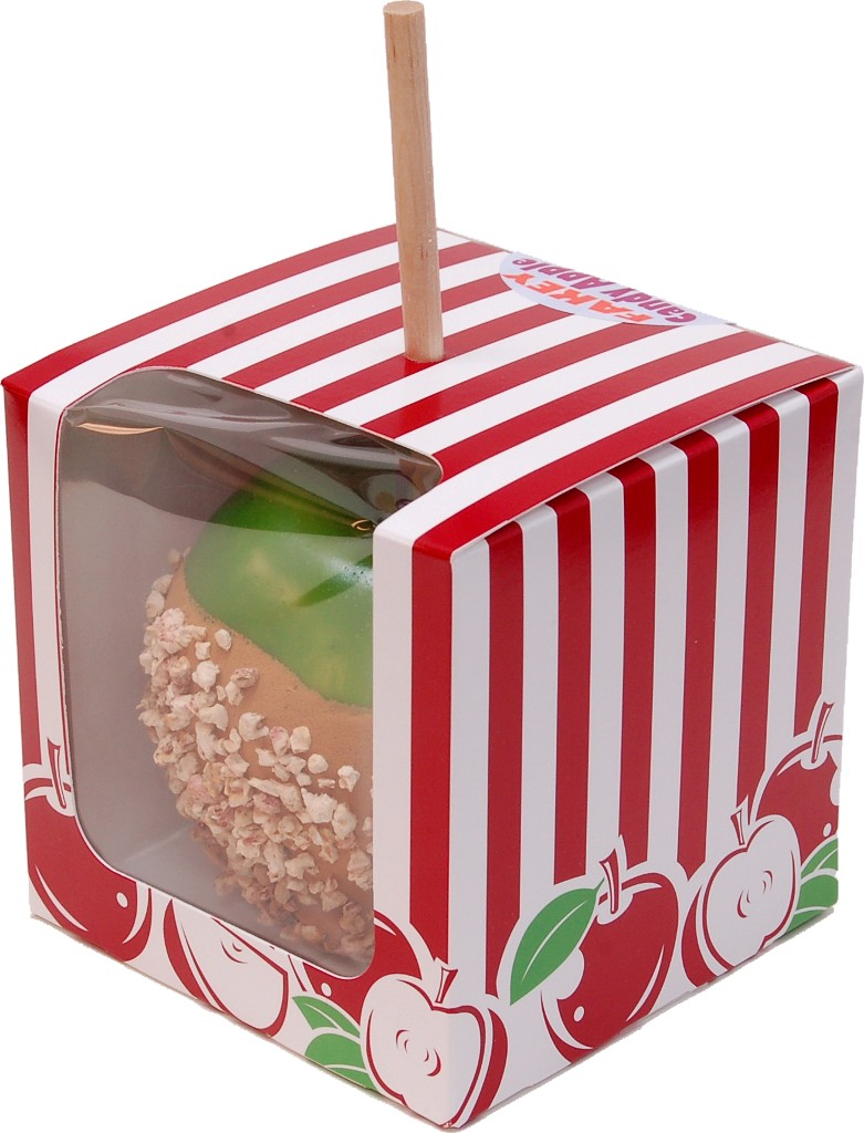 Caramel Fake Candy Apple with Nuts BOX 2