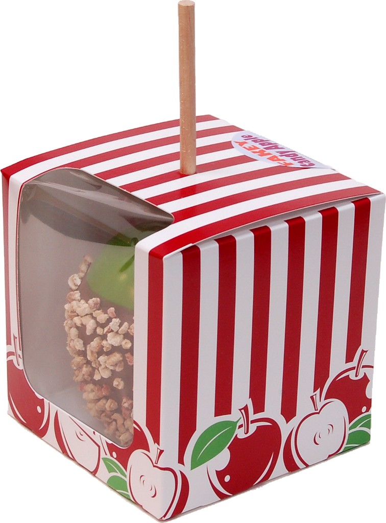 Chocolate Fake Candy Apple with Nuts BOX 2
