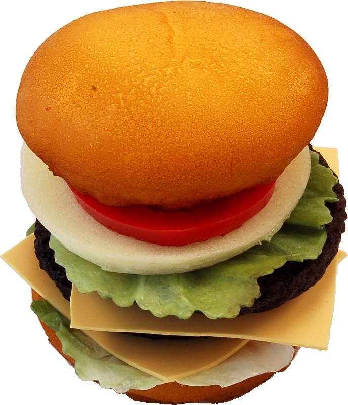 Double Fake Cheeseburger