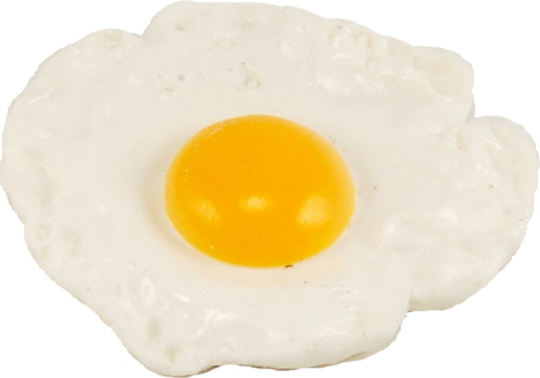 fried egg on a plate illustration, isolated on white ...  |Fried Eggs On A Plate