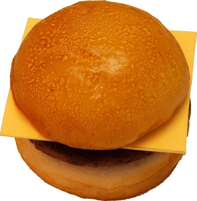 Cheeseburger Plain fake food