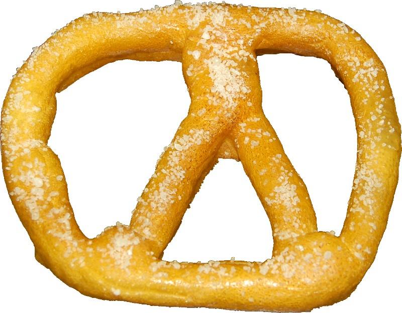 fake pretzel Salted