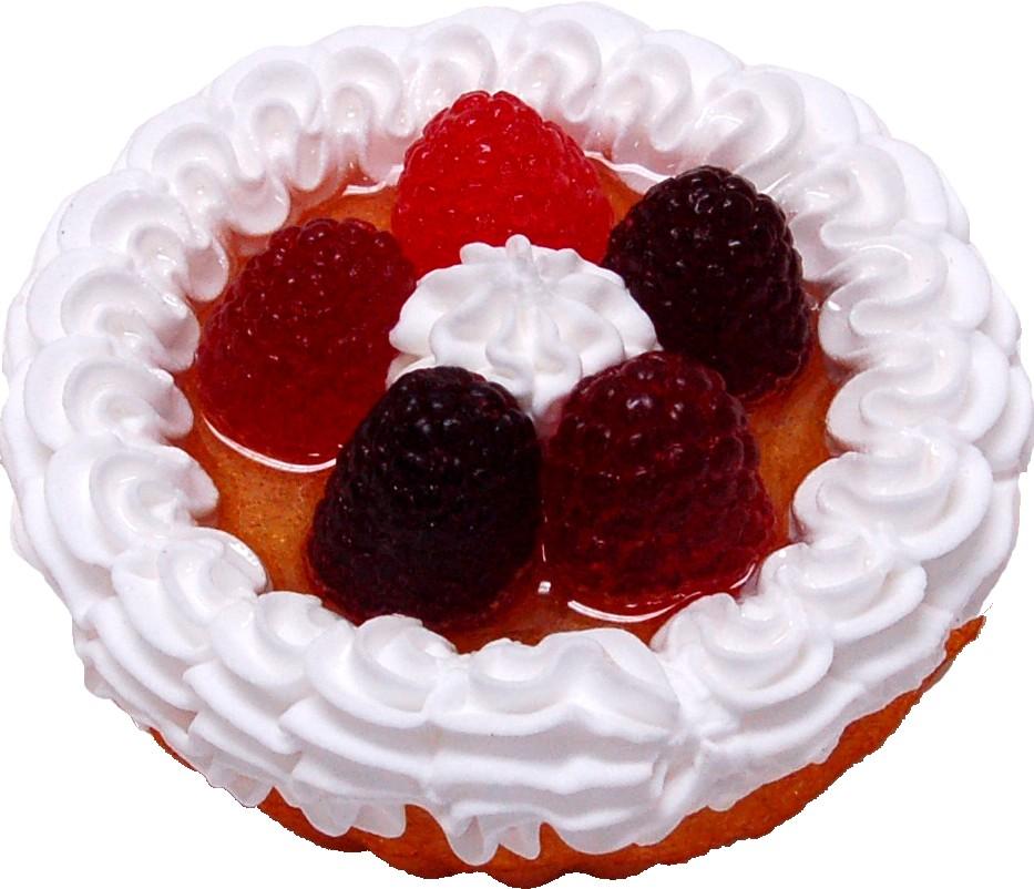 Fruit Fake Tarts 3 inch Berry