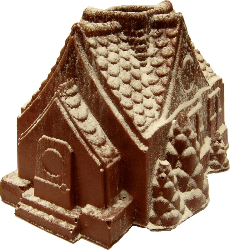 gingerbread house fake food d