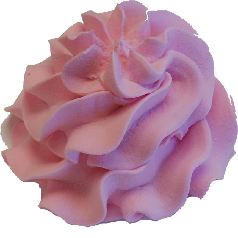 Pink Swirl Soft Serve Fake Ice Cream