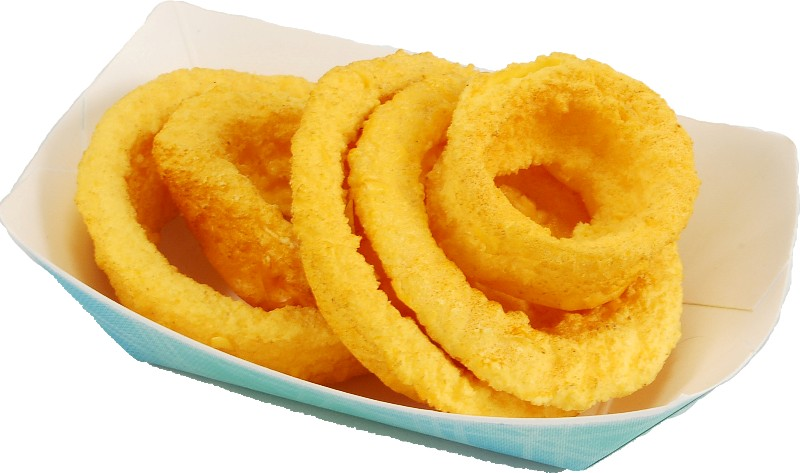 fake fried onion rings