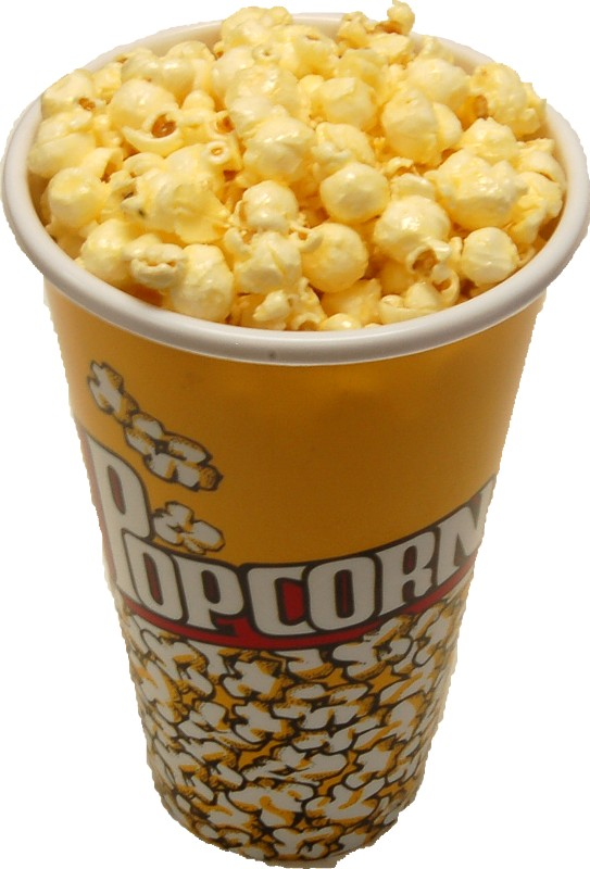 fake popcorn small cup