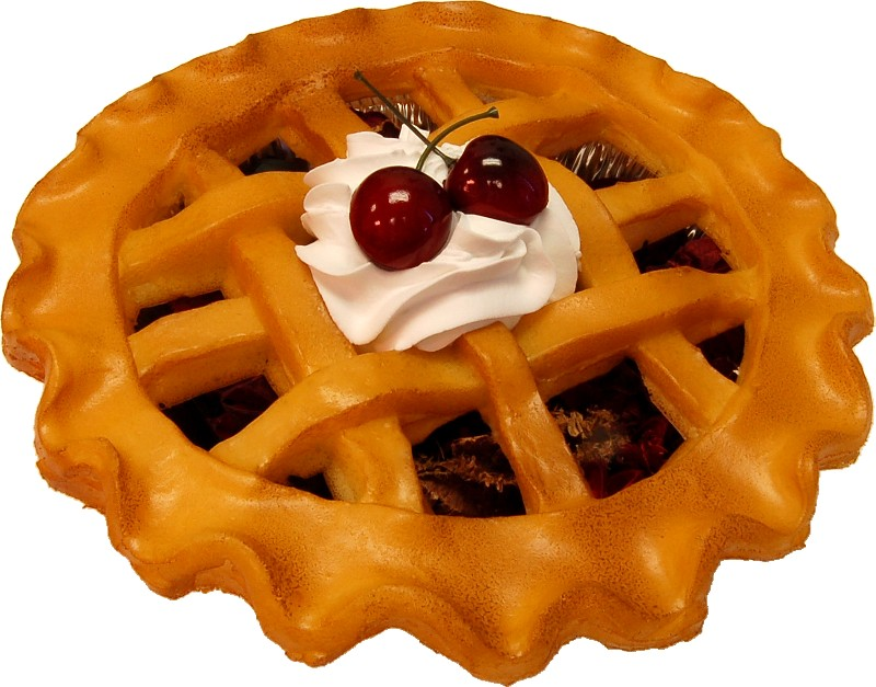 "9"" Cherry Fragrance Potpourri Pie"