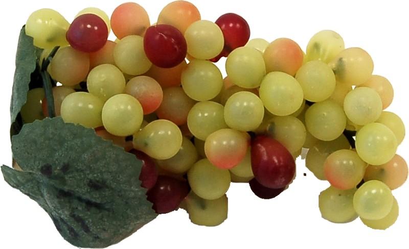 Fake small grapes green