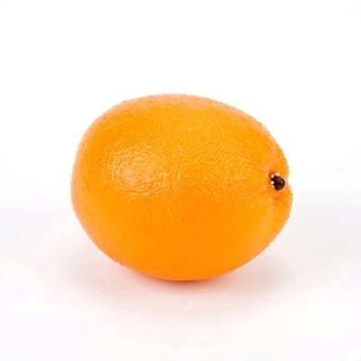 Orange fake fruit