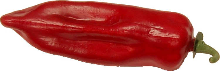 Red Chili fake vegetable