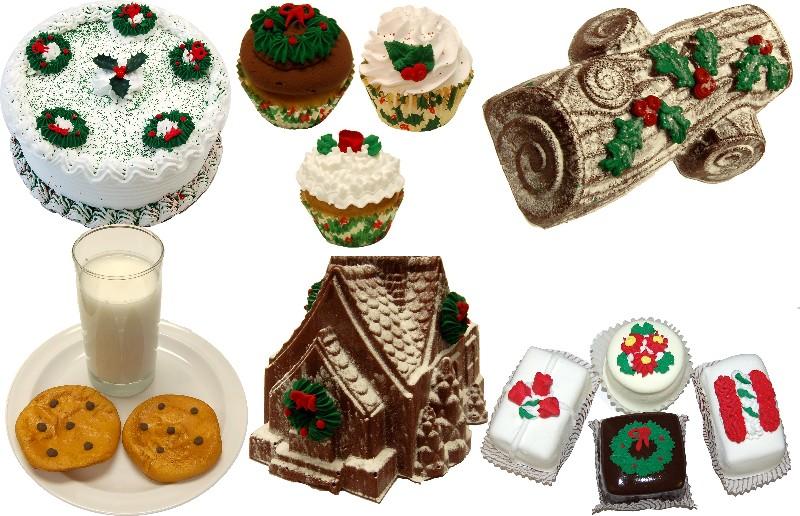 Christmas Fake Food 14pc Pack