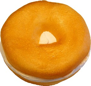 Cream Cheese Fake Bagel Plain