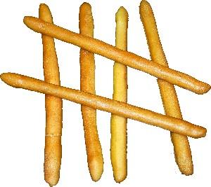 Bread Sticks 6 piece Fake Bread