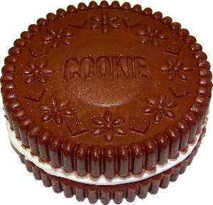 Cookie two Layer fake cake 8 inch USA