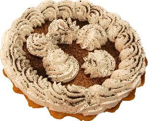Chocolate Mousse Artificial Pie Fake Pie USA