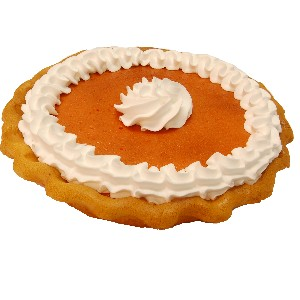 Pumpkin Pie Cream Artificial Pie Fake Pie USA