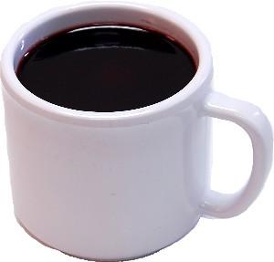 Fake Coffee Melamine Mug
