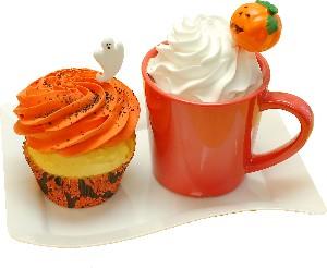 Halloween Decorative Fake Cupcake & Fake Drink Cup Display Prop