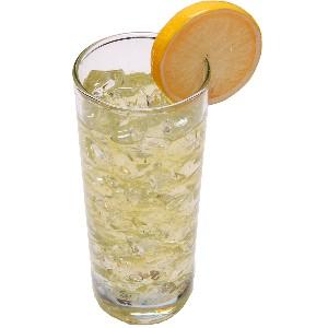 Lemonade with Ice Fake Drink Glass