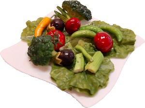 Salad Plate Fake Food