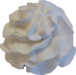 Vanilla Soft Serve fake ice cream NO CONE