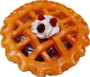 """Potpourri Pie 9"""" Mulberry Fragrance Fake Food USA"""