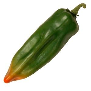 Green Chili fake vegetable