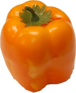Yellow Bell Pepper fake vegetable